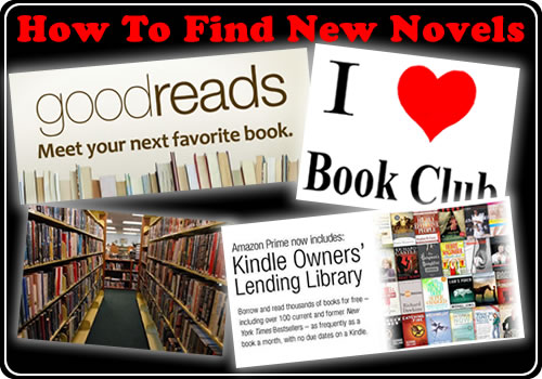 How To Find New Novels
