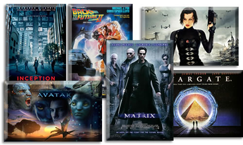 My Most Infulential Sci-Fi Movies