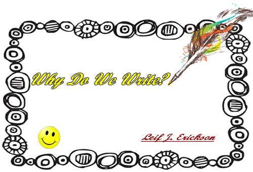 Why Do We Write